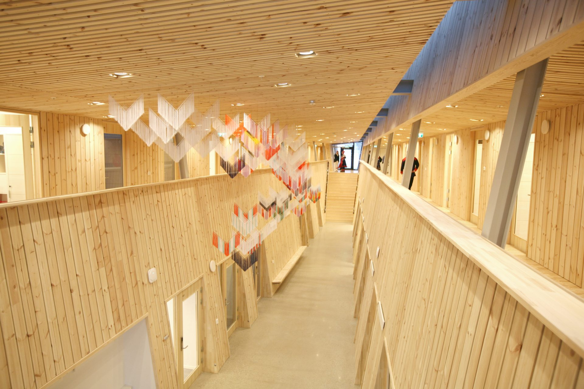 photo - SH Arkitekter_hall_new office wing_sami parliament